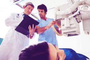 analise da imagem pulmonar - raios x