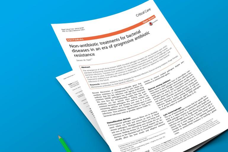 Tratamento não-antibióticos - artigo da semana v01
