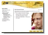 hotsite febre amarela cdc