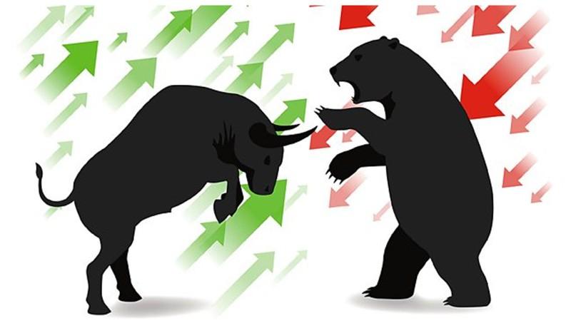 mercado de acoes - touros contra ursos