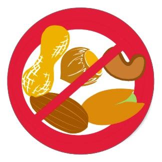 alergia alimentar a amendoim e nozes