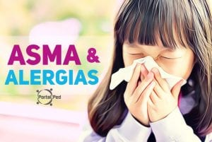asma e alergias pediatria - portalped - social