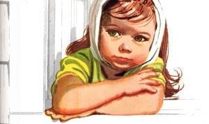crianca com caxumba