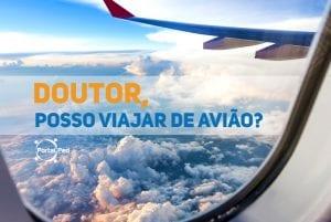 doutor posso viajar de aviao - social