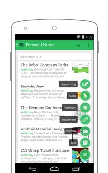 evernote aplicativo organizacao