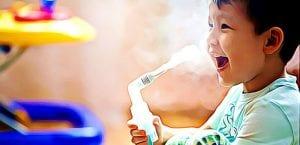 nebulizador crianca