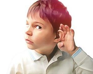 problemas de audicao em criancas