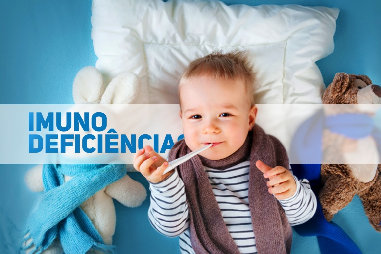 imunodeficiencias na infancia - pediatria