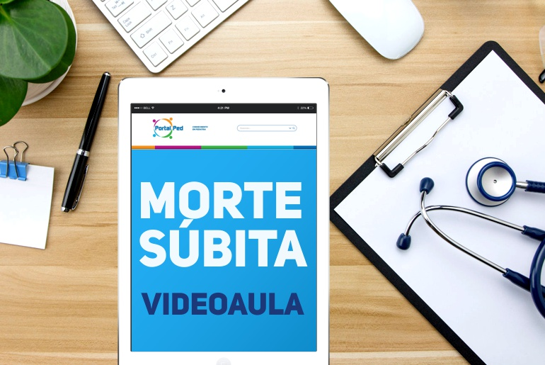 videoaulas PortalPed - morte subita pediatria