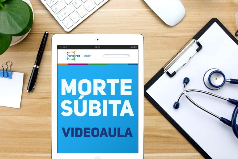 videoaulas PortalPed - morte subita pediatria