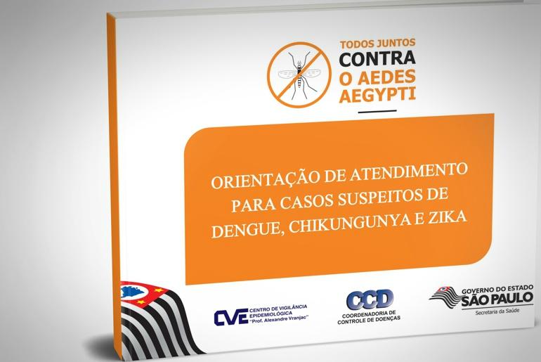 orientacao para casos de dengue zika e chikungunya