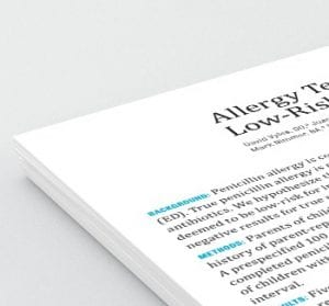 paper artigo penicilina e alergia