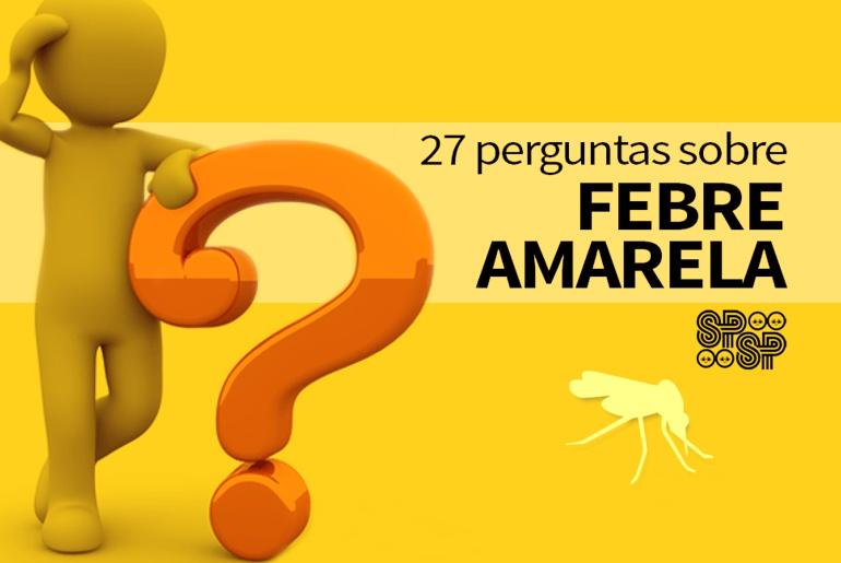perguntas sobre a febre amarela