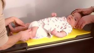 medida de comprimento da crianca deitada