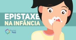epistaxe em pediatria - causas e tratamentos - social