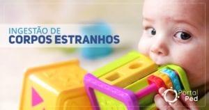 ingestao de corpos estranhos - pediatria - social