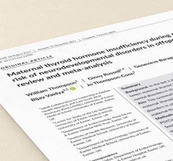 PPED - Paper Hormonio Tireoidiano em Gravidas
