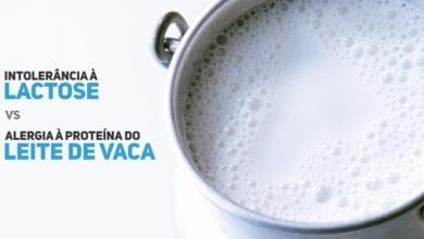 intolerancia a lactose ou alergia a proteina do leite de vaca - pediatria