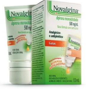 Novalgina - Gotas - 500mg ml
