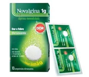 Novalgina - efervescente - saquinho