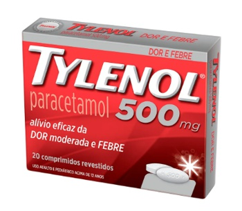 Tylenol comprimido 500mg