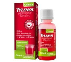 Tylenol crianca